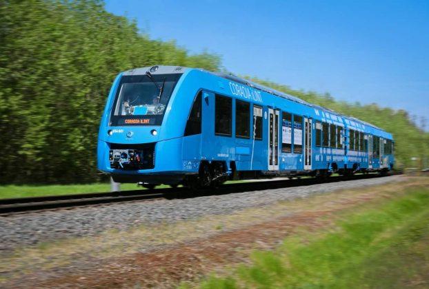 treni a idrogeno viaggi ferroviari sostenibili